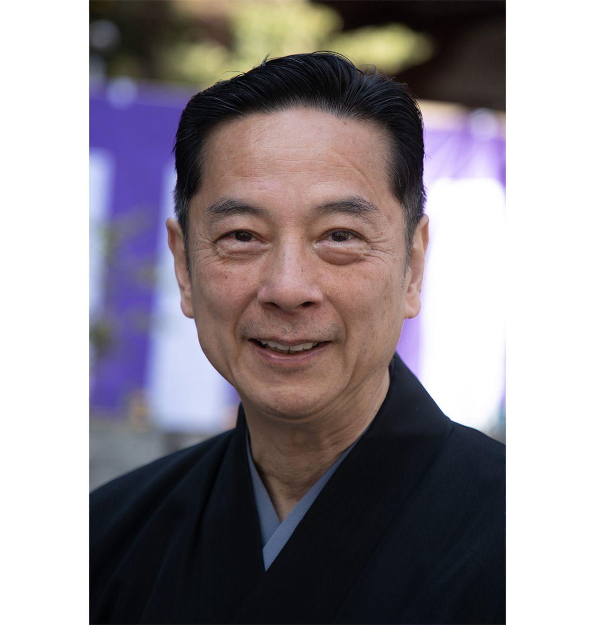 発起人の一人である、能楽小鼓方大倉源次郎。2018年に人間国宝に指定された。「桜井は小鼓の故郷。多武峰談山能には大きなご縁を感じます」。
