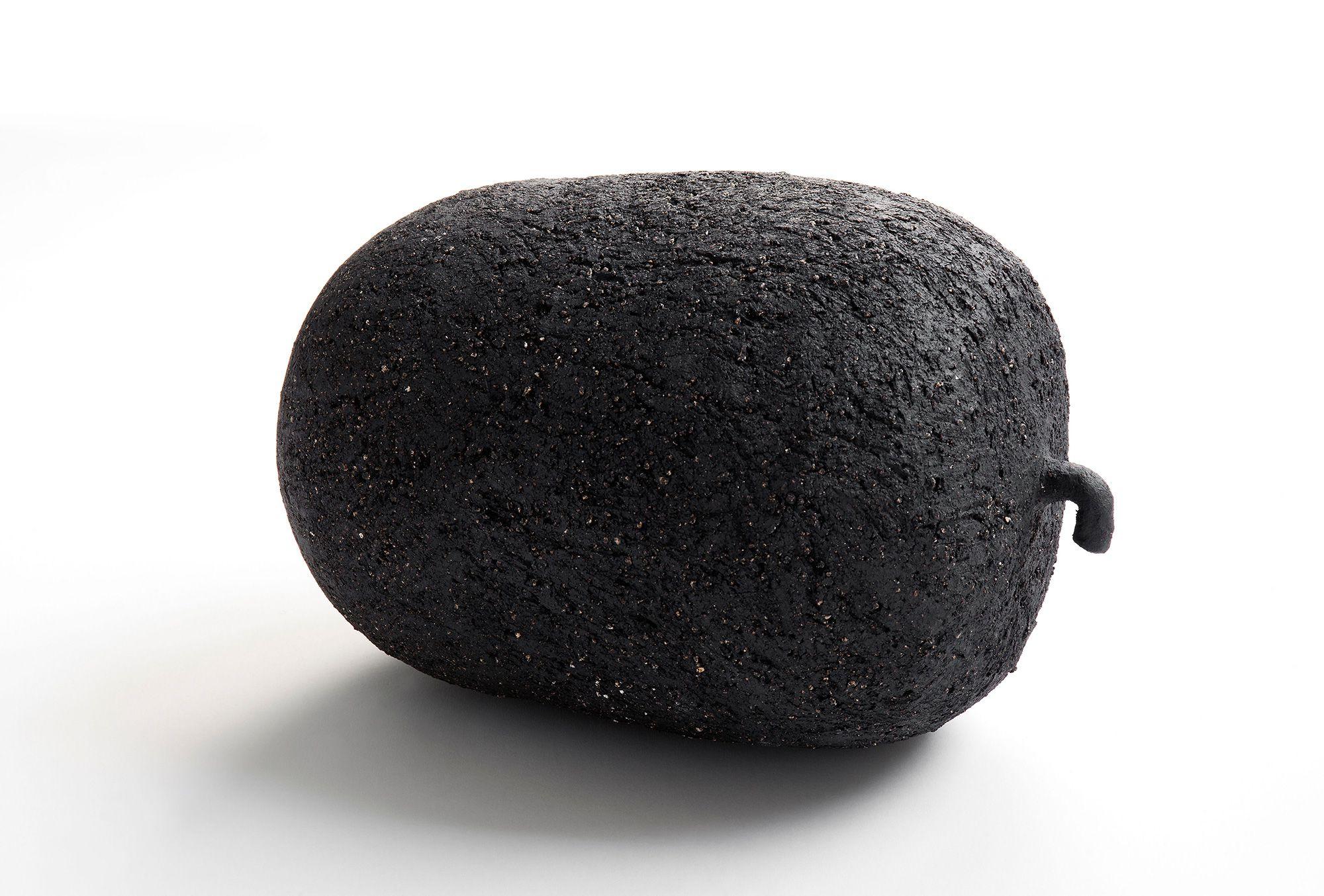 冬瓜の陶でつくられたオブジェ。