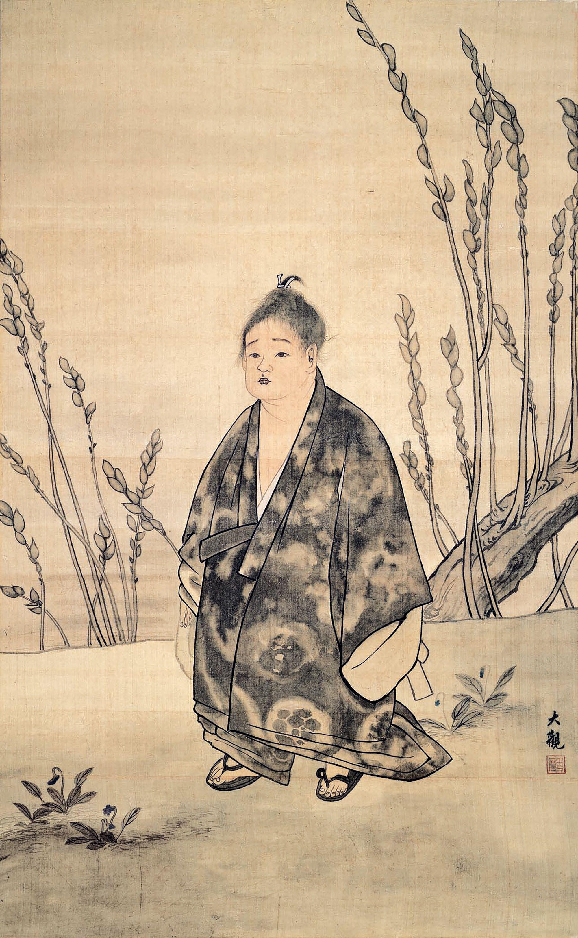 """""""Muga (No Ego)"""" by Taikan Yokoyama, 1897, Adachi Museum Collection"""