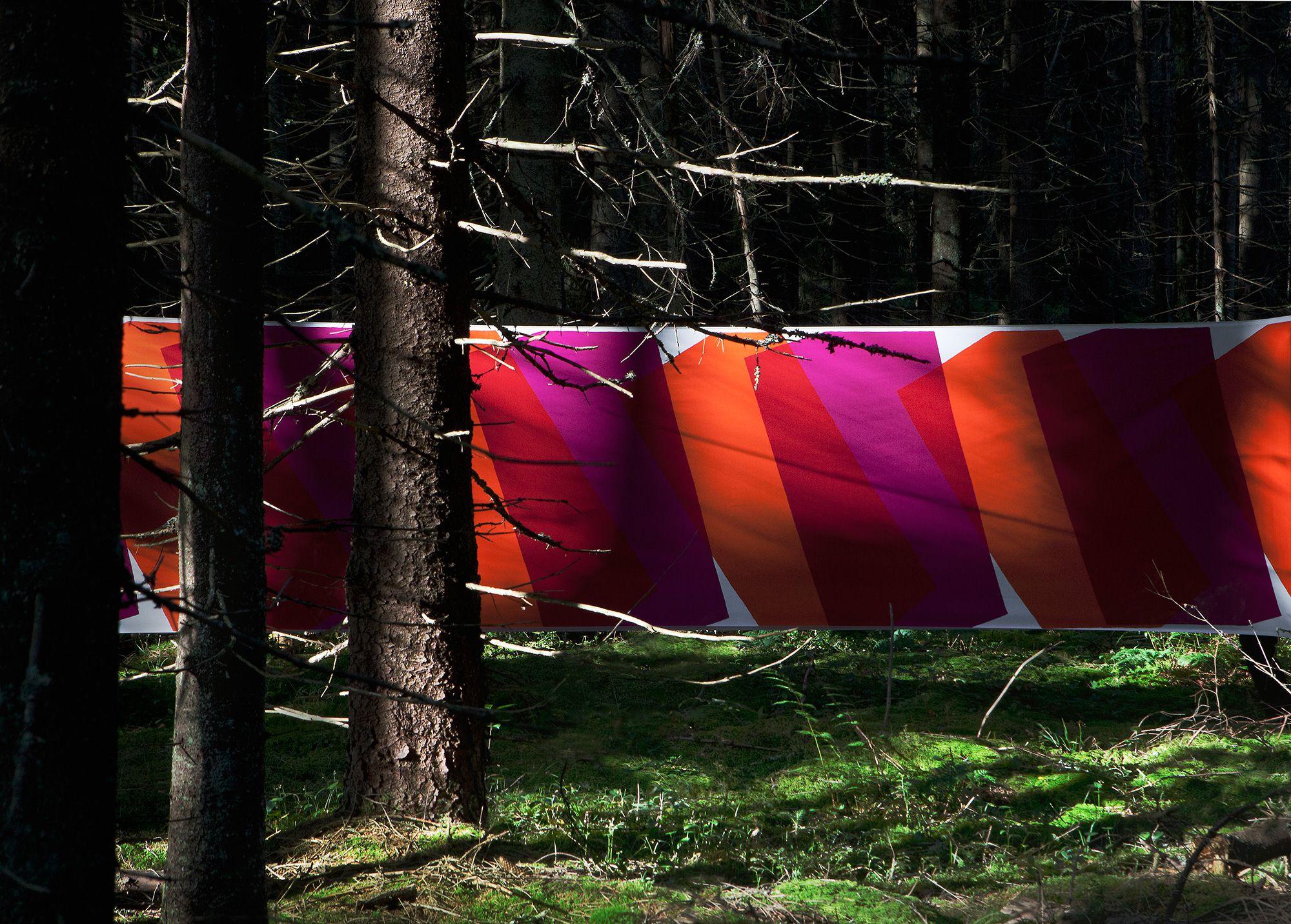OTTAIPNU オリジナルファブリック『noki』スクリーンプリント2018 早朝のヌークシオ国立公園付近で撮影。