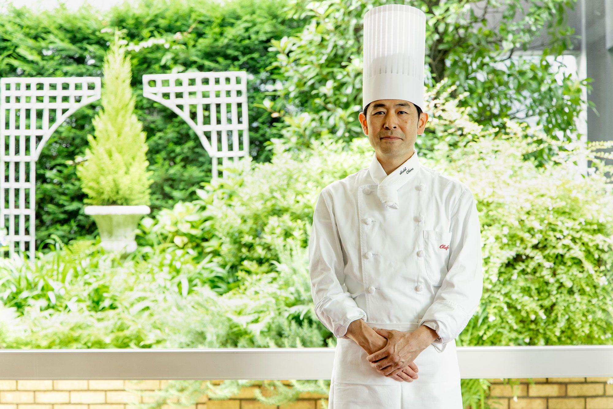 ヌーヴェル・エポックの料理長に就任した髙橋哲治郎。
