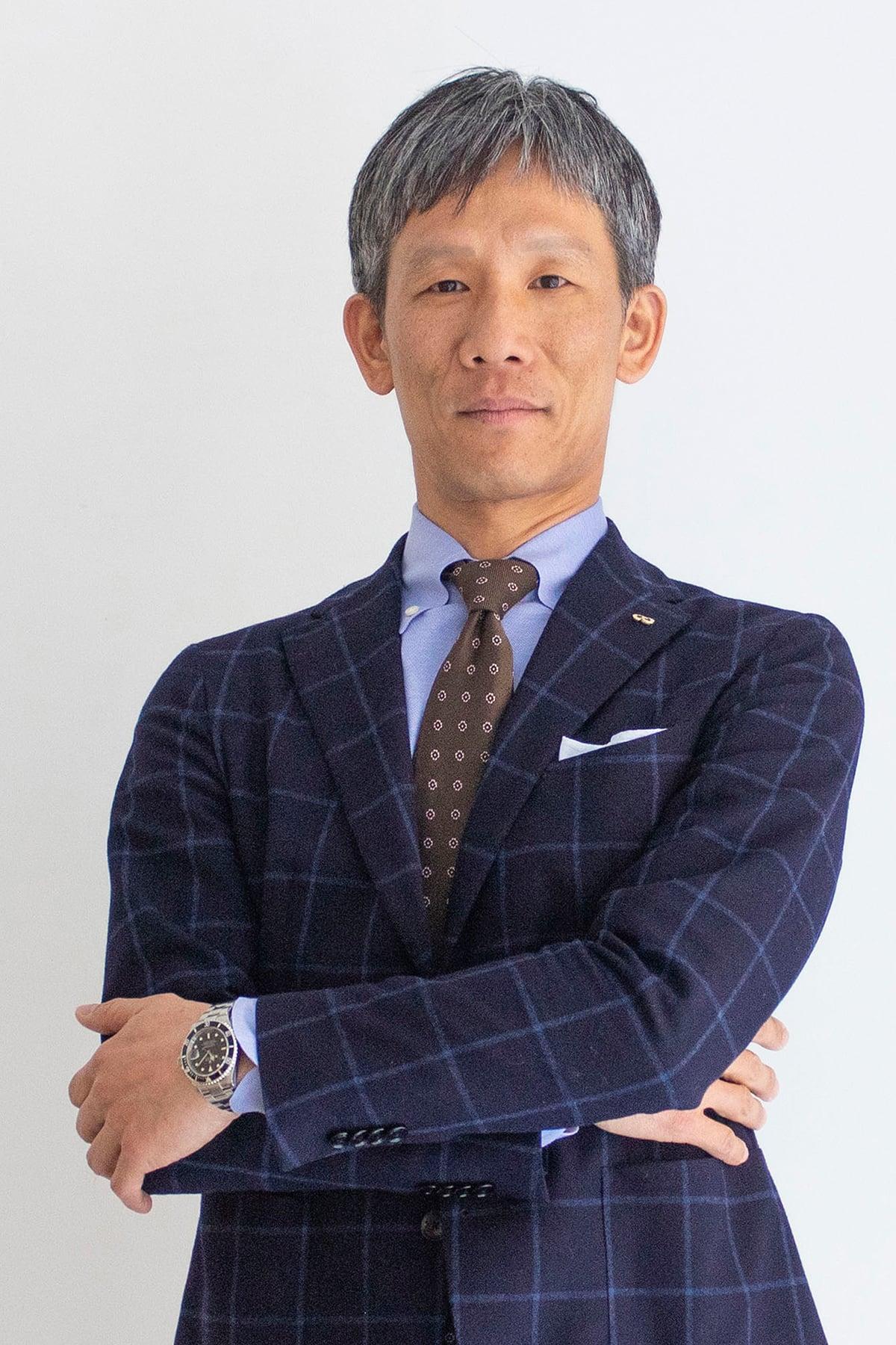 マルニ木工の社長の山中武。洗練されたデザインと高い技術、日本人特有のものづくりに対する姿勢や美意識など、マルニ木工のプロダクトを飛躍させた。