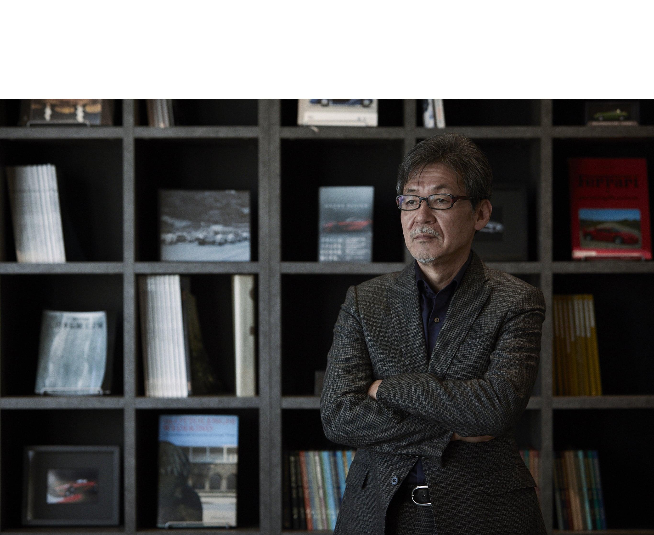 前田育男 Ikuo Maeda   マツダ株式会社 常務執行役員 デザイン ブランドスタイル担当。デザインの力を信じ、マツダの「魂動デザイン」はじめ、ブランドスタイルも統括する。