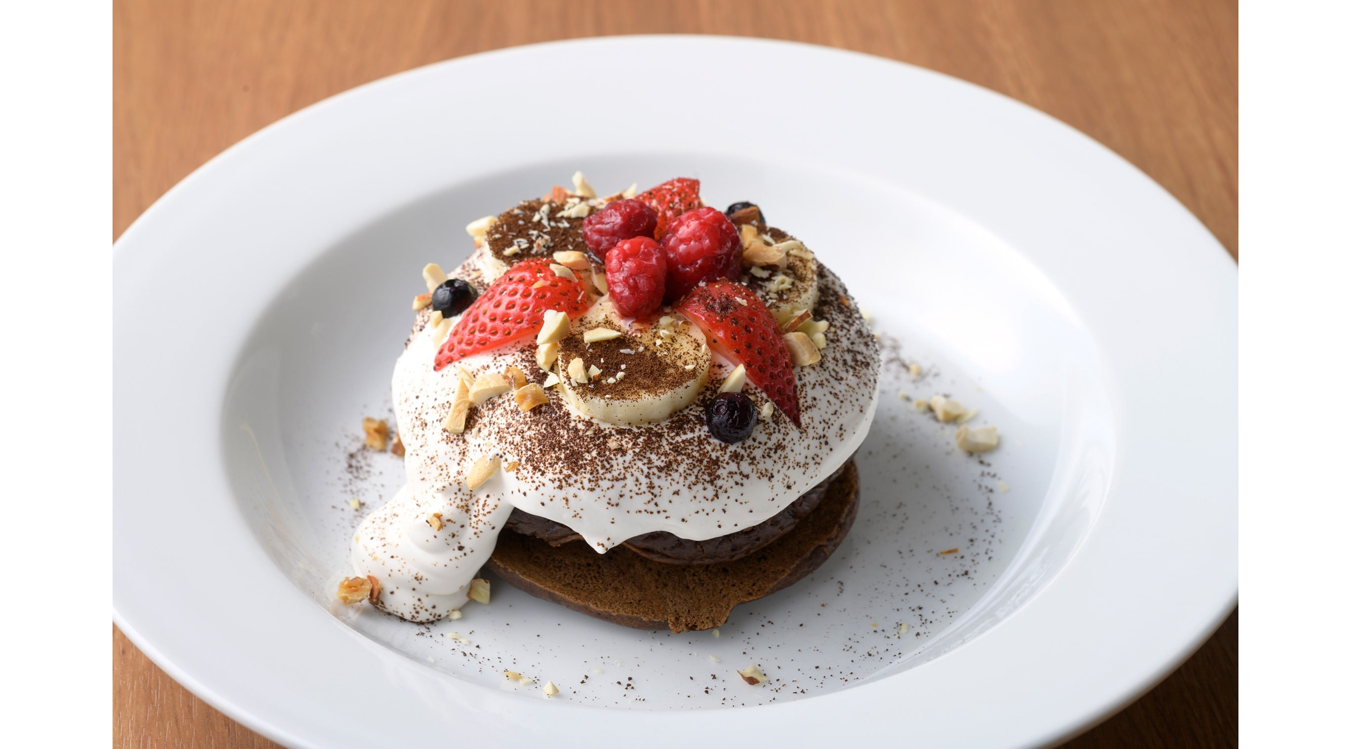 The Detox Brown Pancakes are made of roasted brown rice flour and they effectively detox the body.
