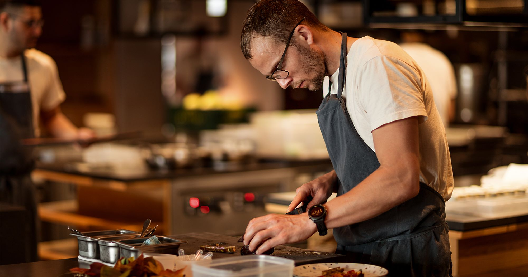 German-born head chef, Thomas Frebel grew up surrounded with traditional local cuisines.