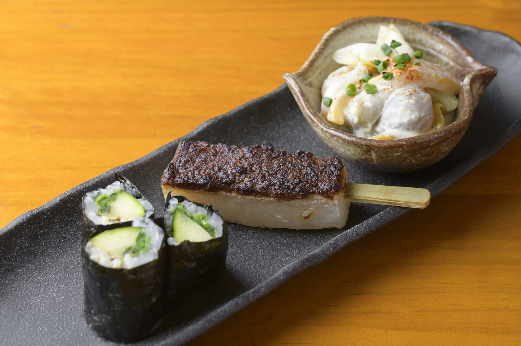 The kaiseki dish that fully brings out the sweetness and umami in vegetables.